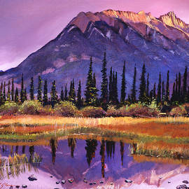 SOFT SHADES OF REFLECTIONS - David Lloyd Glover