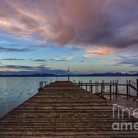 Mitch Shindelbower - Soft Winter Evening Sunset