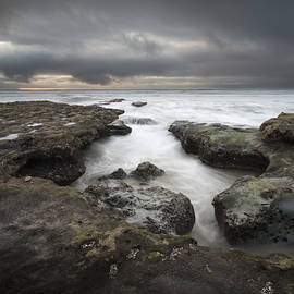 William Dunigan - Solana Beach Stormy Sunset