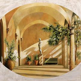 sole tra gli archi - Guido Borelli