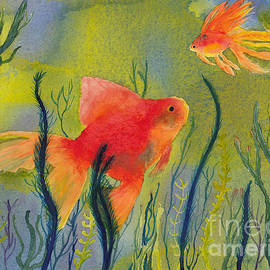 Conni Schaftenaar Elderberry Blossom Art - Something Fishy Going On