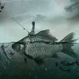 Surreal Photomanipulation - Something Smells Fishy