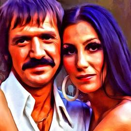 Scott Wallace  - Sonny and Cher Portrait