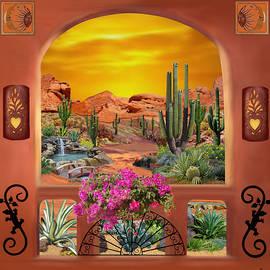 Glenn Holbrook - Sonoran Desert Landscape