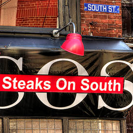 Michael Mazaika - South Philly Skyline - Steaks on South-1 - Between Orianna and Third in South Philadelphia