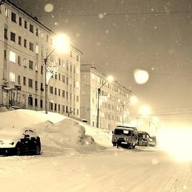 David Broome - Soviet Winter Streets