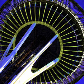 Gary Holmes - Space Needle Abstraction