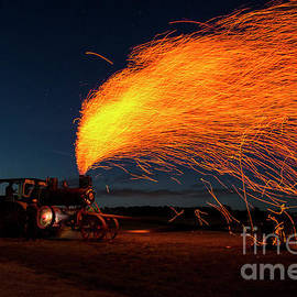 David Arment - Sparks from Steam Engine