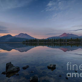 Idaho Scenic Images Linda Lantzy - Sparks Lake