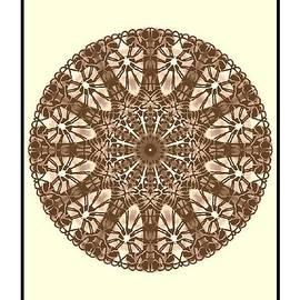 Michael African Visions - African Spear Mandala