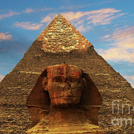 Bob Christopher - Sphinx And Pyramid Of Khafre