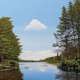 Kenneth M Kirsch - Spider Lake Pond
