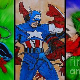 Justin Moore - Spider-man Collage