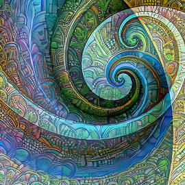 Joy Arnold - Spiral Composition 5