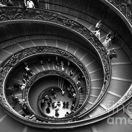 Stefano Senise - Spiral Stairs Horizontal