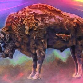 Digital Designs - Spirit Buffalo Portrait