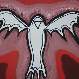Sol Luckman - Spirit Crow original painting