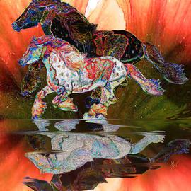 Michele Avanti - Spirit Horse II Leopard Gypsy Vanner