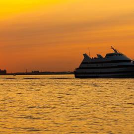 Brian MacLean - Spirit of Boston Sunset