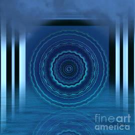 Giada Rossi - Spiritual art - Meditation under the pier 2 by RGiada