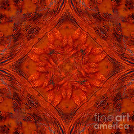 Giada Rossi - Spiritual art - Orange energy by RGiada