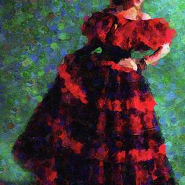 Georgiana Romanovna - Splash Of Spain In Red