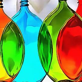 Catherine Lott - Spoon Bottles-Rainbow Theme