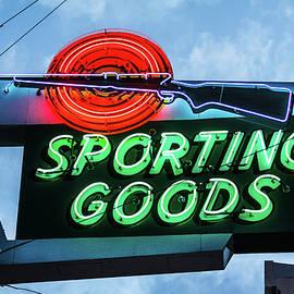 Steven Bateson - Sporting Goods Sign