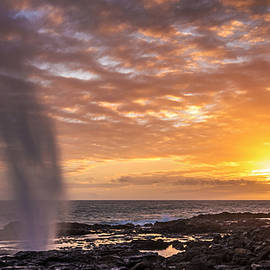 Pierre Leclerc Photography - Spouting Horn Sunset