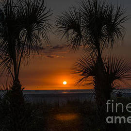 Kathy Liebrum Bailey - Spring Break Sunset