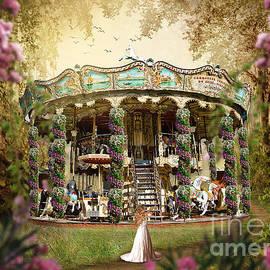 Tricia CastlesNcrowns - Spring Flower Carousel in Paris