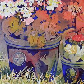 Marsha Reeves - Spring Geraniums II