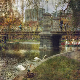 Joann Vitali - Spring in the Boston Public Garden