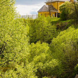 Anna Matveeva - Spring landscapes Vladimir region. Church of St. Nicholas on Selivanova Mountain.Russia.