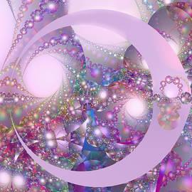 Judi Suni Hall - Spring Moon Bubble Fractal
