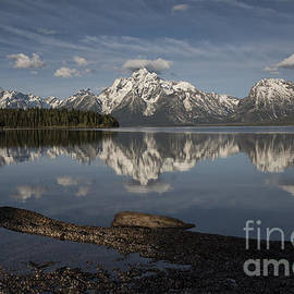Sandra Bronstein - Spring Morning At Colter Bay - Grand Teton National Park