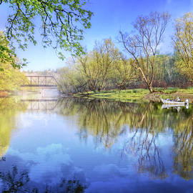 Debra and Dave Vanderlaan - Spring on the River
