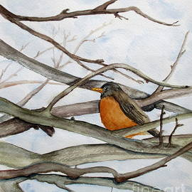 April McCarthy-Braca - Spring Robin