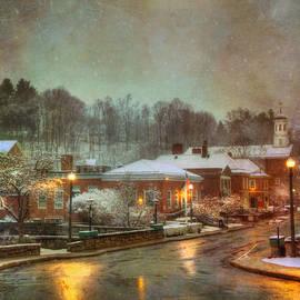 Joann Vitali - Spring snow in Peterborough NH