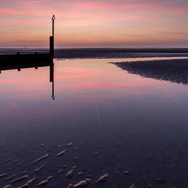 Adrian Evans - Spring Sunset