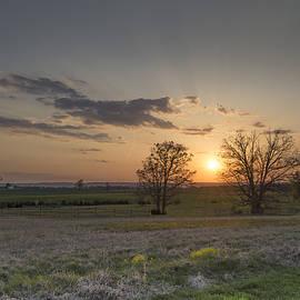Dave Sandt - Spring Sunset