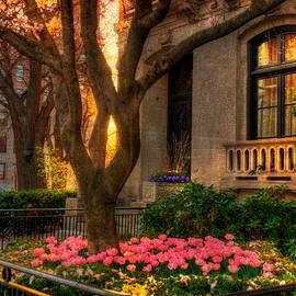 Joann Vitali - Spring Sunset in Back Bay - Boston