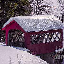 New England Photography - Spring time at Vergennes Falls.