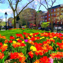Ed Weidman - Springtime At Abingdon Square Park