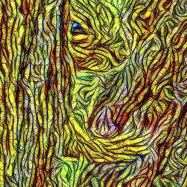 Joel Bruce Wallach - Squirrel In Sheltering Tree