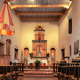 Christine Till - St Francis Chapel at Mission San Diego