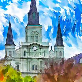 Steve Harrington - St. Louis Cathedral - Paint