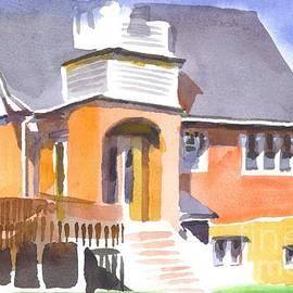 Kip DeVore - St Paul Lutheran in Watercolor 2