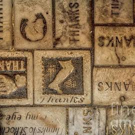 Kathleen K Parker - St Roch Floor Tiles- Thanks