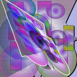 Iris Gelbart - Stain Glass 3